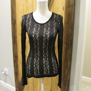 BKE Boutique Lace Long Sleeve